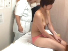 Medical voyeur porn with dirty masseur fucking Asian