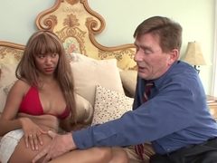 Crazy pornstar Bella Moretti in fabulous interracial, cunnilingus porn movie
