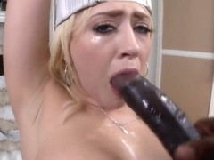 Kagney Linn Karter takes on monster cock