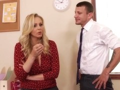 Julia Ann & Mr. Pete in Naughty Office