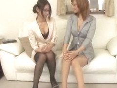 Incredible Japanese slut Riona Suzune in Amazing Secretary, Cunnilingus JAV movie