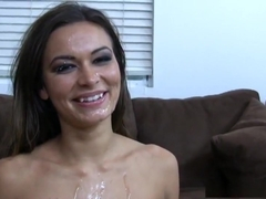 Crazy pornstar Crissy Moon in horny straight adult clip