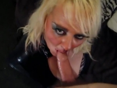 Wendy pvc blowjob
