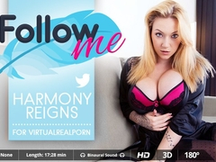 Harmony Reigns in Follow Me - VirtualRealPorn