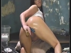 Porn video with sexy anal plugging