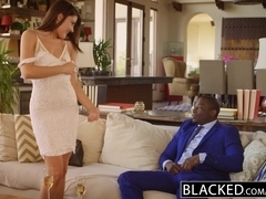 BLACKED First Interracial For Beauty Adria Rae