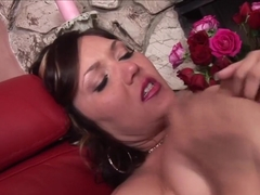 Exotic pornstar Claire Dames in incredible creampie, brazilian porn movie