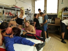 Amazing pornstars Eliss Fire, Emylia Argan and Rachel La Rouge in horny blonde, brazilian porn clip