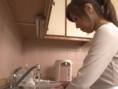 Best Japanese girl Chihiro Akino in Crazy pov, blowjob JAV movie