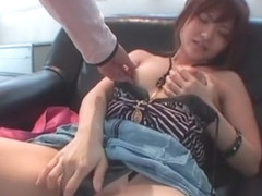 Amazing Japanese chick Kanna Harumi in Horny Cunnilingus, Couple JAV movie