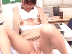 Best Japanese girl Hikaru Ayuhara in Exotic Dildos/Toys, Masturbation JAV clip