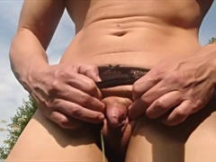 Outdoor Masturbation BIG CLIT Muscle Girl ANOUK