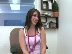 Hot Abby Lane goes to a job interview and fucks her interviewer