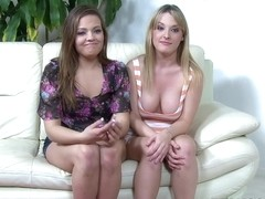 Ashlynn Leigh and Tristyn Kennedy in Eff yeah threesome