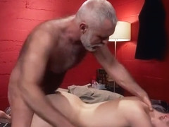 Incredible homemade gay video with Spanking, Daddies scenes