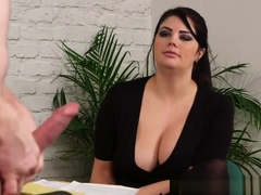 Busty Cfnm Boss Mistress