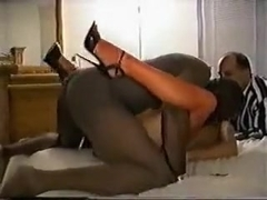 Older mother goes for cuckold sex