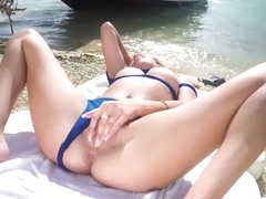 Allie Cumming With a Finger Up Her Ass - BangBros
