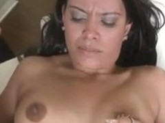 Chick Is Moaning As Hunk Bangs Her Cunt From Behind
