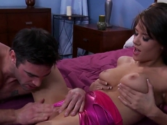 Brittney Banxxx and Charles Dera in cool sex