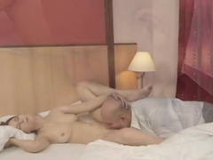 Beata Undine enjoys in hot action with grandpa