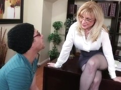 Nina Hartley & Xander Corvus in My First Sex Teacher