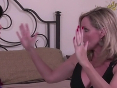 Best pornstars Shay Fox and Jodi West in amazing blowjob, blonde porn scene
