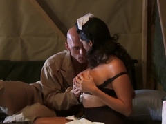 Johnny Sins gets sucked by busty Missy Martinez