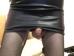 Horny Homemade Shemale clip with Solo, Masturbation scenes