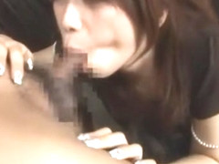 Fabulous Japanese slut Hikari Hino in Crazy Deepthroat, Blowjob JAV movie