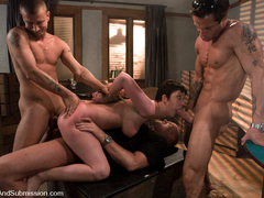 Cherry Torn & Mark Davis & Mr. Pete & Alan Stafford in The Poker Game - SexAndSubmission