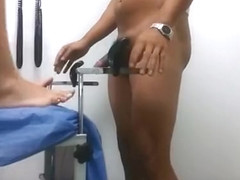 Woman fucked in gynecologist office