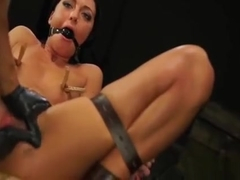 Handcuffed Whore Gets Totally Manhandled In Rough Sex Scene