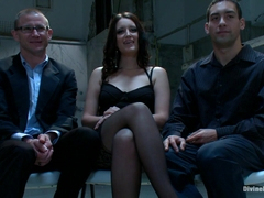 Kimberly Kane & Brenn Wyson & DJ in A Cuckold Comedy - DivineBitches