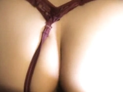 Pink haired latina rides thick cock