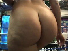 Busty big ass Austin Kincaid knocks out her lover