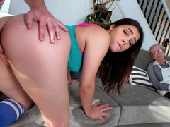 Valentina Nappi in Valentina Nappi Shows Her Thick Ass - IKnowThatGirl