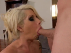 Brooke Haven lets janitor to fuck and lick her superbe shaved pussy