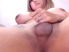 Shemale Milf Sucking Cock