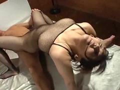 Exotic Japanese whore in Hottest Lingerie, Femdom JAV clip