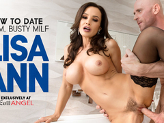 Lisa Ann in How To Date Glam, Busty MILF Lisa Ann - EvilAngel
