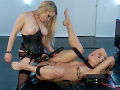 Dahlia Sky  Aiden Starr in Dahlia Sky Loves Sex And Loves Electricity - Electrosluts