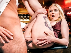 Stripper Danny Carly Rae Enjoys Anal Sex With The Bartender - Private
