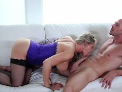 Fabulous pornstar Abbey Brooks in Best Big Ass, Stockings xxx scene