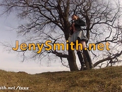 Jeny Smith photosession behind the scene