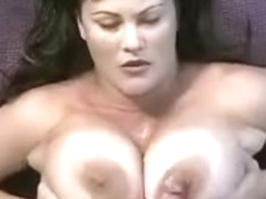 massive titty fuck and cumshot
