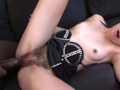 Ashley Woods Is A European Brunette With A Hot Slim Body...