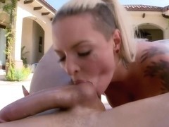 Christy Mack's big ass gets sloppy wet