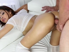 Jade Jantzen enjoys anal from behind