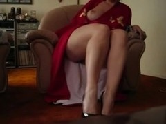 Mother I'd Like To Fuck legs ejaculation